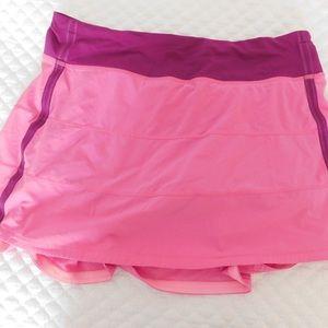 Lululemon pace rival II skirt size 8 tall